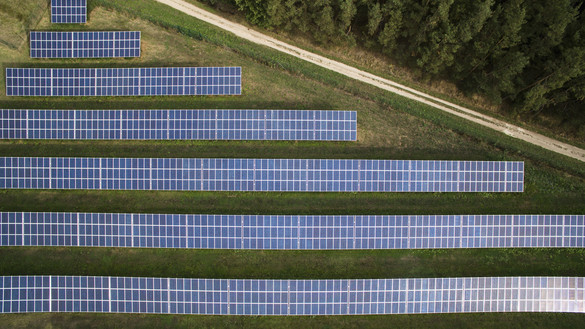 National Grid ESO - solar panels in a field